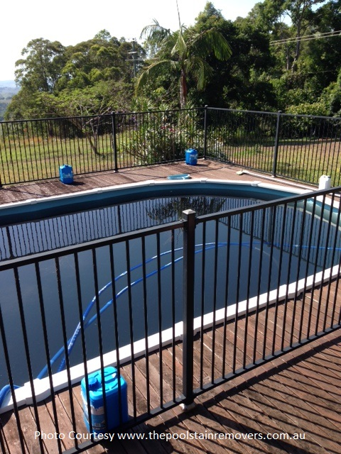 Wade Bosse Pool Black Water Before