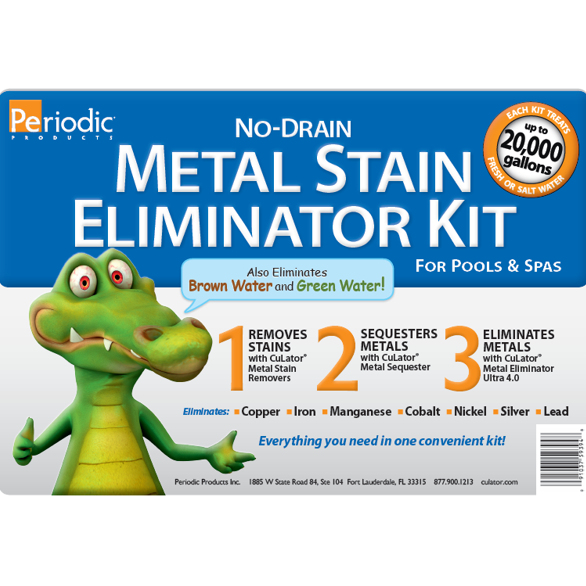 No Drain Metal Stain Eliminator Kit