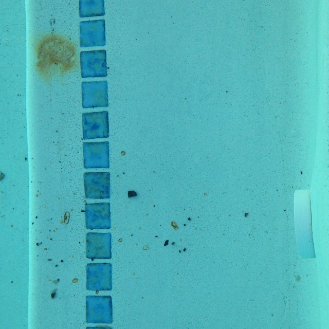 Metal Stain on Pool Surface