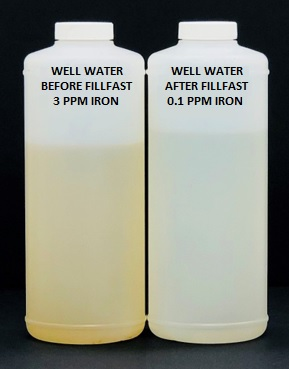 Well Water Before and After FillFast