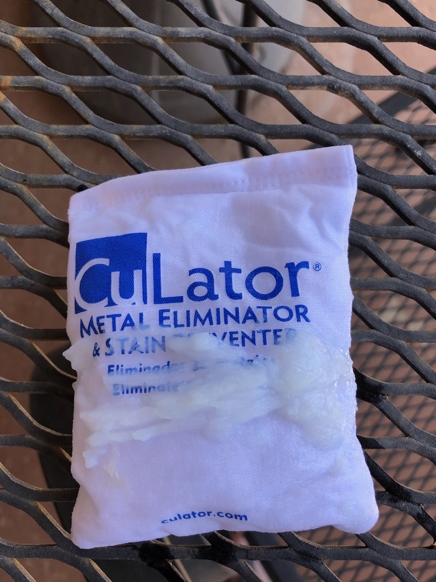Phosphate remover on the CuLator bag