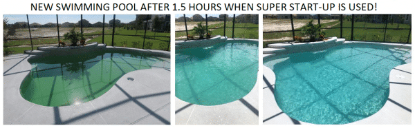 Perfect pool after using Super Start-Up by Periodic Products